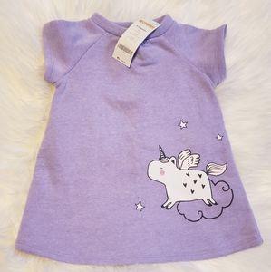Gymboree Unicorn dress New size 6-12 months